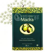 玛蒂娜特级初榨橄榄油(3L铁桶装)