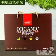 有机小米-优农康品有机四色小米礼盒