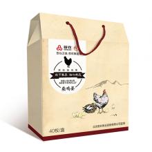 首农农家柴鸡蛋40枚礼盒 北京配送
