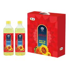 中粮塔原红花籽调和油礼盒