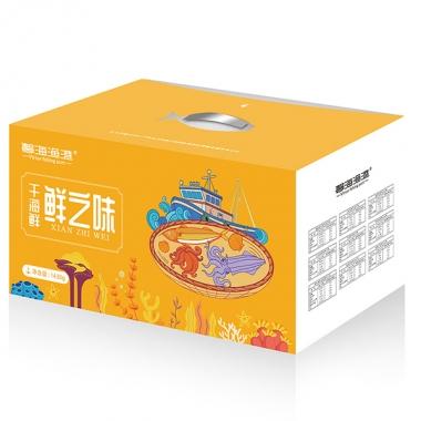 馨海渔港「298元」鲜之味干海鲜礼盒