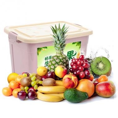 珍优鲜水果「缤纷鲜果398型」水果礼盒