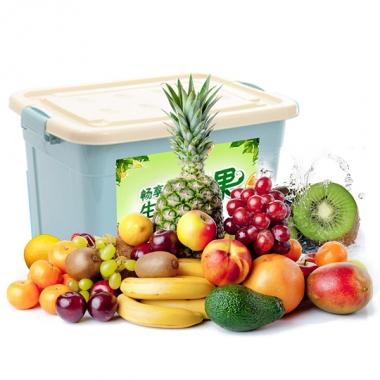 珍优鲜水果「缤纷淳果1088型」水果礼盒
